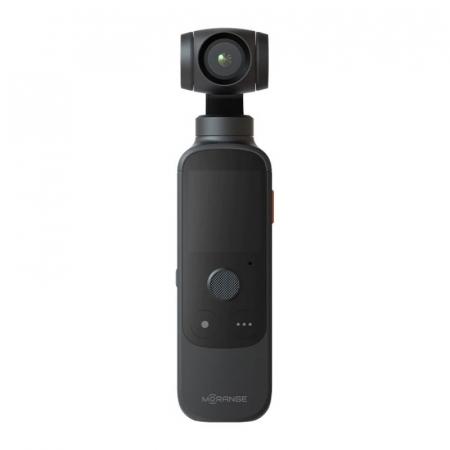 "Camera video de buzunar pentru vlogging Xiaomi Morange M1 Pro Negru, 4K 60fps, 12MP, AMOLED 1.4"", Gimbal 3 axe, Smart tracking1"
