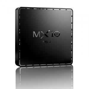 TV Box MX10 Mini, 4K, 2GB RAM, 16GB ROM, Android 10, Allwinner H313 QuadCore, 2.4G Wi-Fi,DLNA, Miracast, Air Play1