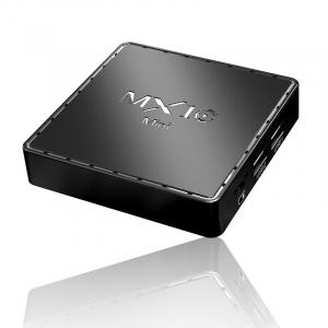 TV Box MX10 Mini, 4K, 2GB RAM, 16GB ROM, Android 10, Allwinner H313 QuadCore, 2.4G Wi-Fi,DLNA, Miracast, Air Play4