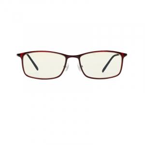 Ochelari de protectie Xiaomi Mi Computer Glasses, UV400, Blocare lumina albastra 40%, Lentile galbene, Usori si confortabili, Rosu0