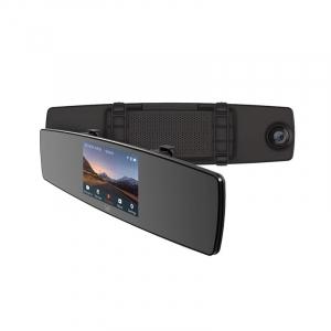 Oglinda retrovizoare DVR Xiaomi YI Dash, Touchscreen 4.3 inch, Camera Spate, Microfon, Full HD, Wireless0