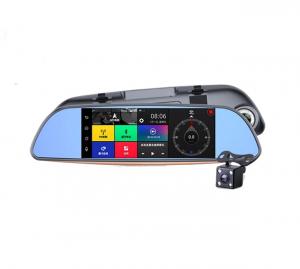 Oglinda Retrovizoare Star E7, slot sim 3G , 7 inch HD, Android, Camera DVR Fata, Spate, Wireless, Bluetooth, Parcare, Resigilat2