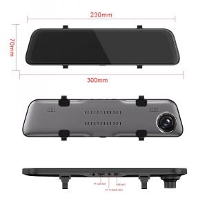 Oglinda retrovizoare Star Senatel S11, 2K, 12 inch, 170°, Hisilicon Hi3556, Touchscreen, Dual Camera, Giroscop3