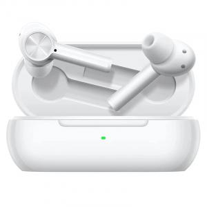 Casti bluetooth semi-in-ear OnePlus Buds Z Alb cu cutie de incarcare si transport, Bass Boost, Microfon, Bluetooth v5.0, Incarcare rapida0