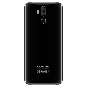 Telefon mobil Oukitel K9, Waterdrop 7.12 inch FHD+, 4GB RAM, 64GB ROM, 6000mAh, Android 9.0, Face ID, Dual SIM, Negru, Resigilat2