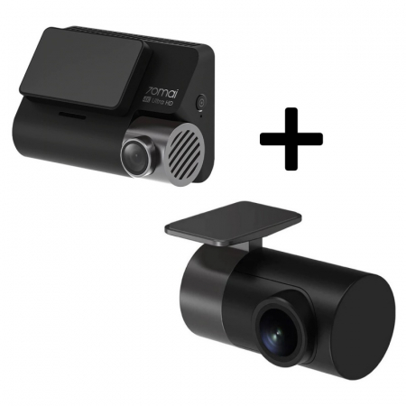 Pachet camera autoDVR Xiaomi 70MAI A800cu camera spate RC06,4K,Sony IMX415, 140°, Super Night Vision, ADAS, GPS, Monitorizare parcare0