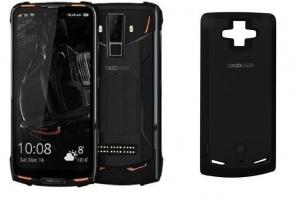 Pachet telefon mobilmodularDoogee S90 Android 8.1 OctaCore 6GB RAM 128GB ROM Waterproof + Modul baterie 5000mAh0