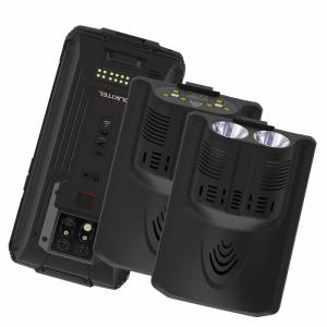 "Pachet telefon mobil Oukitel WP7 cu modul UVC si lanterna, 4G, IPS 6.53"", 8GB RAM, 128GB ROM, Helio P90, NFC, IP68, 8000mAh, Dual SIM, Negru0"