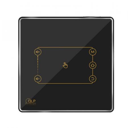 Mini Proiector portabil DLP CSQ C9 Plus 2/16 Negru [1]