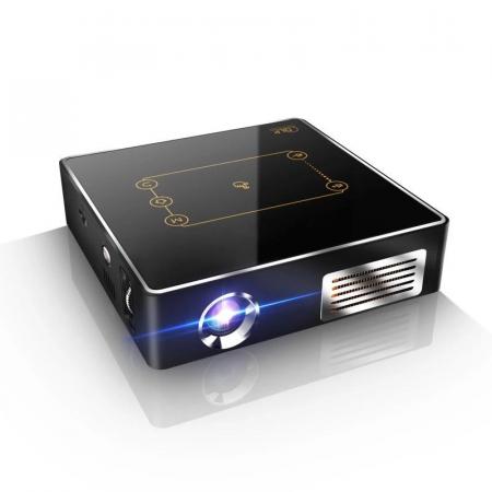 Mini Proiector portabil DLP CSQ C9 Plus 2/16 Negru [0]