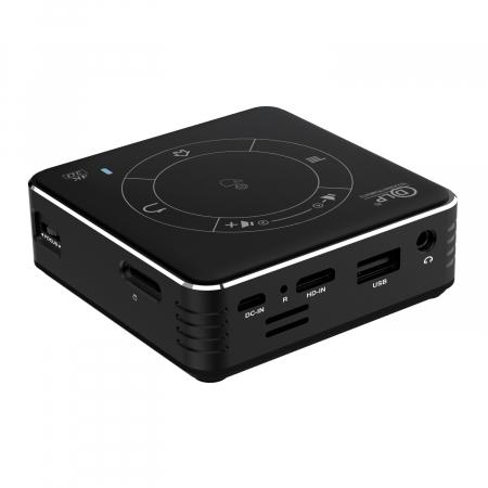 Mini proiector portabil DLP CSQ C99 4/32 Negru [5]