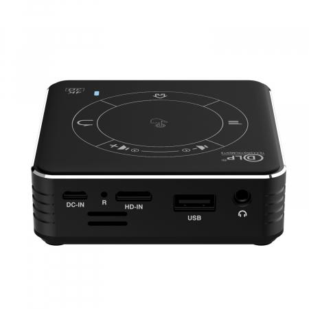 Mini proiector portabil DLP CSQ C99 4/32 Negru [4]