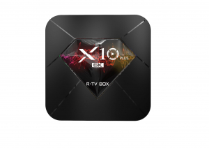 R-TV BOX X10 Plus, 6K, Android 9.0, Allwinner H6 CPU, QuadCore,2.4G WiFi, 4GB RAM, 32GB ROM, USB 3.01