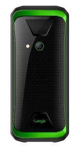 "Telefon mobil Samgle F9 Hulk, 3G, 1450 mAh, 64MB RAM, 128MB ROM, 2.8"", Lanterna, Radio, Dual SIM, Compatibil Digi Mobil, Verde, Resigilat1"
