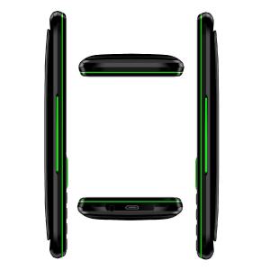 "Telefon mobil Samgle F9 Hulk, 3G, 1450 mAh, 64MB RAM, 128MB ROM, 2.8"", Lanterna, Radio, Dual SIM, Compatibil Digi Mobil, Verde, Resigilat2"