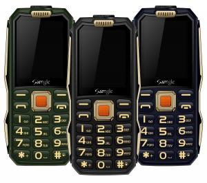 Telefon mobil Samgle S1 Thor, 3G, 4000 mAh, 64MB RAM, 128MB ROM, 2.4 inch, 0.08MP, Bluetooth, Lanterna, Dual SIM, Compatibil Digi Mobil0