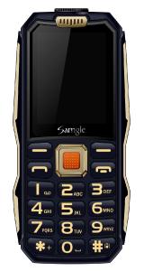 Telefon mobil Samgle S1 Thor, 3G, 4000 mAh, 64MB RAM, 128MB ROM, 2.4 inch, 0.08MP, Bluetooth, Lanterna, Dual SIM, Compatibil Digi Mobil7