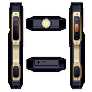 Telefon mobil Samgle S1 Thor, 3G, 4000 mAh, 64MB RAM, 128MB ROM, 2.4 inch, 0.08MP, Bluetooth, Lanterna, Dual SIM, Compatibil Digi Mobil9