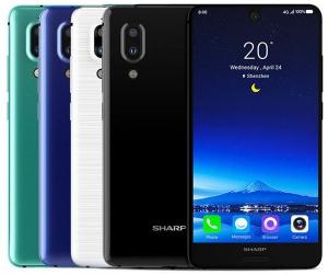 Telefon mobil SHARP AQUOS S2 C10, Android 7.1, 4GB RAM, 64GB ROM, 5.5 inch FHD+, Snapdragon 630 OctaCore, Face ID, NFC, 3020mAh, 4G0