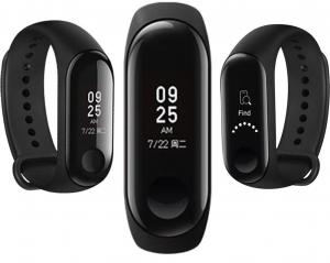 Smartband Xiaomi Mi Band 3 Global, folie protectie cadou, Waterproof, Touch OLED 0.78 inchi, Pedometru, Notificari, Ritm cardiac0