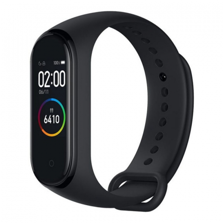 Smartband Xiaomi Mi Band 4, Folie cadou, LCD Touch Screen, Waterproof, Ritm Cardiac, Fitness Tracker, Bluetooth 5.0, 135 mAh2