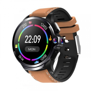Smartwatch AllCall AWatch GT, 4G, IPS 1.6inch, 3GB RAM, 32GB ROM, Android 7.1, Wi-Fi, GPS, Cortex-A53 QuadCore, Face ID, 1260mAh, Maro0