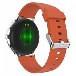 Smartwatch Blackview X2, LCD 1.3inch curbat 2D, Bluetooth, Control muzica, Waterproof 5ATM, 260mAh, Silver4