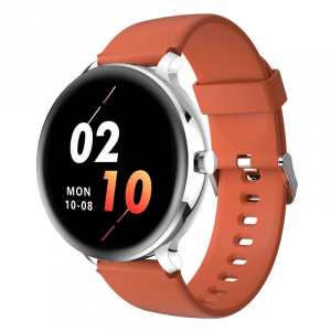 Smartwatch Blackview X2, LCD 1.3inch curbat 2D, Bluetooth, Control muzica, Waterproof 5ATM, 260mAh, Silver1