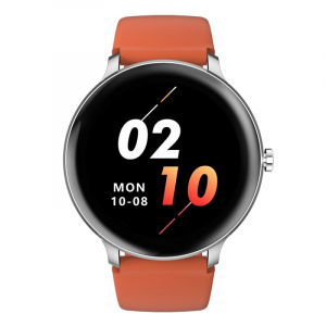 Smartwatch Blackview X2, LCD 1.3inch curbat 2D, Bluetooth, Control muzica, Waterproof 5ATM, 260mAh, Silver0