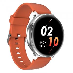 Smartwatch Blackview X2, LCD 1.3inch curbat 2D, Bluetooth, Control muzica, Waterproof 5ATM, 260mAh, Silver2