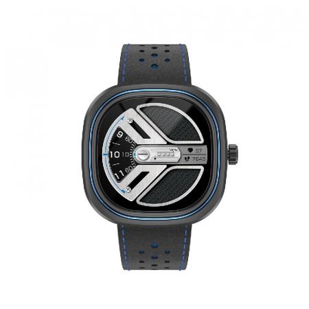 Smartwatch Doogee DG Ares Gri cu bratara din piele [0]