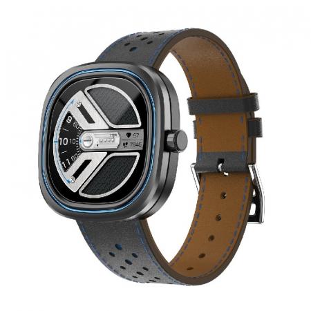 Smartwatch Doogee DG Ares Gri cu bratara din piele [1]