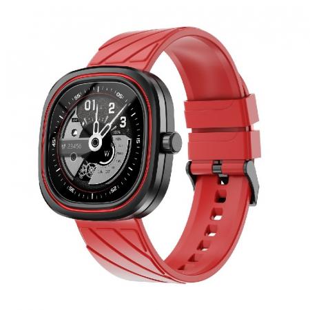 Smartwatch Doogee DG Ares Rosu cu bratara din silicon [1]