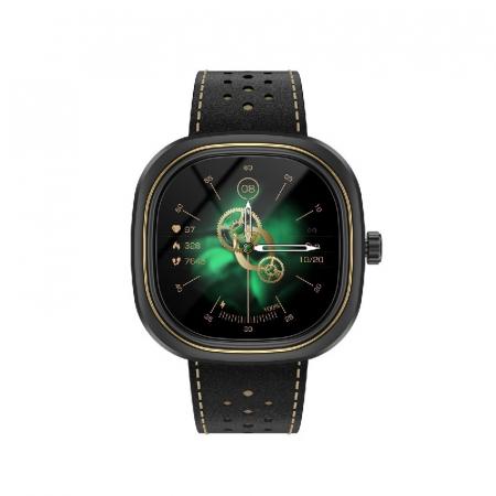 Smartwatch Doogee DG Ares Negru cu bratara din piele [0]