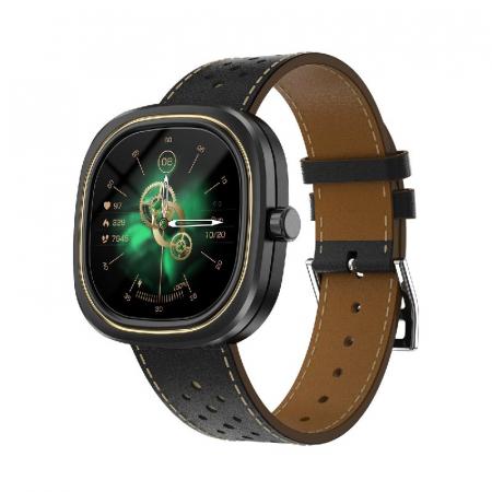 Smartwatch Doogee DG Ares Negru cu bratara din piele [1]