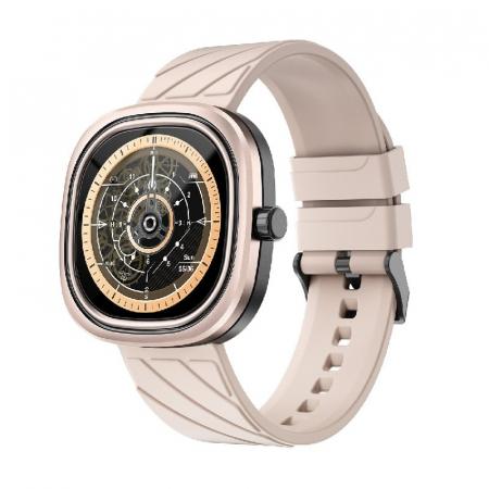 Smartwatch Doogee DG Ares Gold cu bratara din silicon [1]
