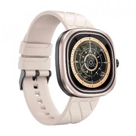 Smartwatch Doogee DG Ares Gold cu bratara din silicon [2]