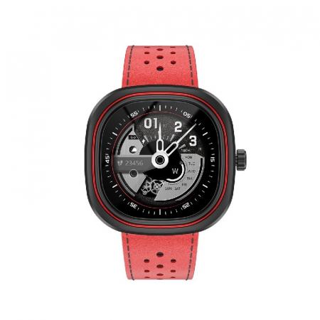 Smartwatch Doogee DG Ares Rosu cu bratara din piele [0]