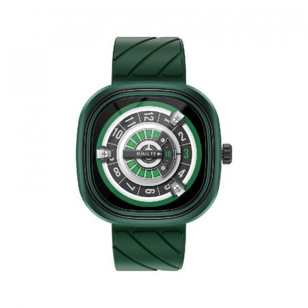 Smartwatch Doogee DG Ares Verde cu bratara din silicon [0]