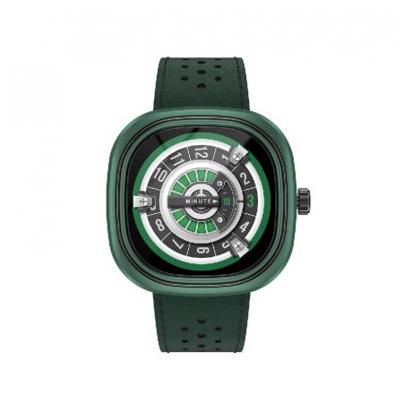 Smartwatch Doogee DG Ares Verde cu bratara din piele [0]
