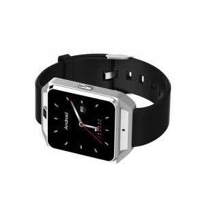 Smartwatch IWatch M5, 4G, Android 6.0, 1.54 inch, MTK6737M, Waterproof, GPS, 1GB RAM, 8GB ROM, Monitorizare Ritm Cardiac, Silver, Resigilat2