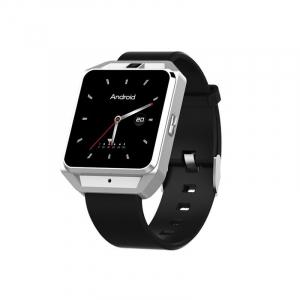Smartwatch IWatch M5, 4G, Android 6.0, 1.54 inch, MTK6737M, Waterproof, GPS, 1GB RAM, 8GB ROM, Monitorizare Ritm Cardiac, Silver, Resigilat0