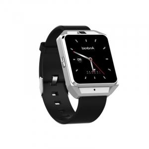 Smartwatch IWatch M5, 4G, Android 6.0, 1.54 inch, MTK6737M, Waterproof, GPS, 1GB RAM, 8GB ROM, Monitorizare Ritm Cardiac, Silver, Resigilat1
