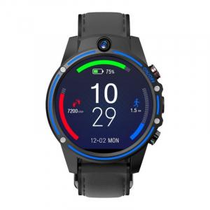 "Smartwatch Kospet Vision, 4G, IPS 1.6"", 3GB RAM, 32GB ROM, Android 7.1.1,MTK6739 QuadCore, Wi-Fi, GPS, 800mAh, Negru cu Albastru1"