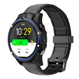 "Smartwatch Kospet Vision, 4G, IPS 1.6"", 3GB RAM, 32GB ROM, Android 7.1.1,MTK6739 QuadCore, Wi-Fi, GPS, 800mAh, Negru cu Albastru0"