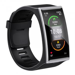"Smartwatch STAR DM12 Silver, LCD 1.91"" Touch screen, Ritm cardiac, Contor calorii, Fitness tracker, Monitorizare somn, IP68, 300mAh2"