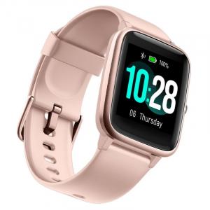 "Smartwatch Ulefone Watch Roz Coral, TFT 1.3"" touch screen, Ritm cardiac, Monitorizare Menstruatie, Waterproof, Bluetooth v5.0, 210mAh3"