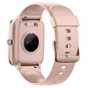"Smartwatch Ulefone Watch Roz Coral, TFT 1.3"" touch screen, Ritm cardiac, Monitorizare Menstruatie, Waterproof, Bluetooth v5.0, 210mAh2"
