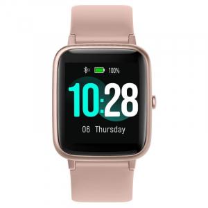 "Smartwatch Ulefone Watch Roz Coral, TFT 1.3"" touch screen, Ritm cardiac, Monitorizare Menstruatie, Waterproof, Bluetooth v5.0, 210mAh1"
