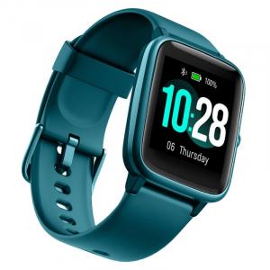 "Smartwatch Ulefone Watch Turcoaz, TFT 1.3"" touch screen, Ritm cardiac, Monitorizare Menstruatie, Waterproof, Bluetooth v5.0, 210mAh3"